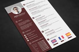 Resume Template Psd Best Resume Templates In 2015 Docx Psd Scoop It