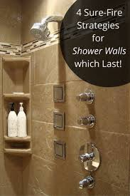 Shower Wall Ideas by 169 Best Shower U0026 Tub Wall Panels Images On Pinterest Bathroom