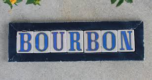 bourbon sign new orleans tile signs the basketry delivers creative