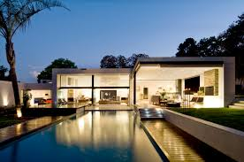 Japanese Modern Homes Exterior Contemporary Japanese Modern House With Upper Level Pool