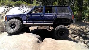 rubicon trail xj on the rubicon trail soup bowl youtube