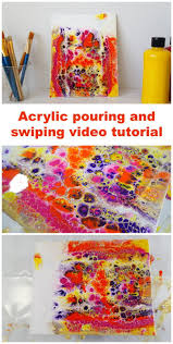 Colorful Painting by 1118 Best Poured Paint Art Images On Pinterest Painting Art