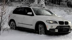 bmw jeep 2008 bmw x5 winter driving youtube