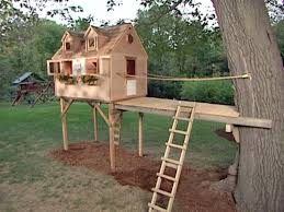 Kids Backyard Forts How To Build A Tree Fort Forts Tree Houses And House