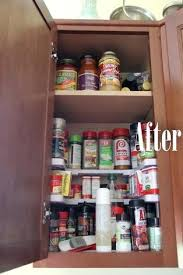 Over The Cabinet Spice Rack Or Make A Spice Rack Above The Stove To Line Up Your Spices Over
