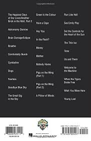 Pink Floyd Comfortably Numb Lyrics And Chords Amazon Com Pink Floyd Guitar Chord Songbook 0888680035112