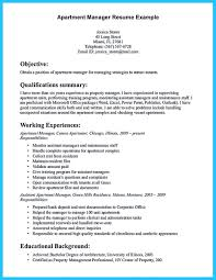 Property Manager Resume Sample by Outstanding Professional Apartment Manager Resume You Wish To Make