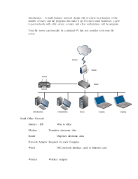 A Small Business Network Design - Home office network design