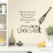 stickers recette cuisine stickers revêtement sol et mur de la cuisine cuisine au top