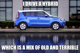 Hybrid Car Meme - image tagged in homer simpson quote hybrid imgflip