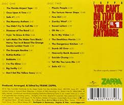 Sofa Frank Zappa Frank Zappa You Can U0027t Do That On Stage Anymore Vol 1 2 Cd