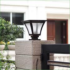 Solar Light For Fence Post - lighting fence post solar light caps solar post cap lights