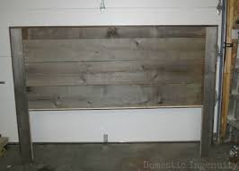 Reclaimed Wood Headboard by Grey Wood Headboard Including Ana White Rustic Diy Collection