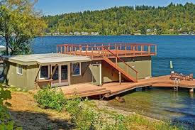 Boat House 3m Lake Sammamish House Includes Boathouse You Could Live In