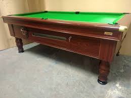 Slate Bed Fantastic 7x4 Slate Bed Pub Pool Table New Recover U0026 Accessories