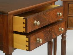 doucette and wolfe fine furniture makers nightstand with reeded legs