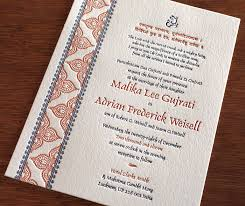 hindu wedding invitation letterpress wedding cards for hindu brides letterpress wedding