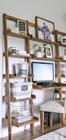 Leaning Shelves Woodworking Plans by Ana White Leaning Ladder Wall Bookshelf Diy Projects