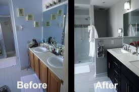 Bathroom Remodels Before And After Bathroom Remodel Realie Org