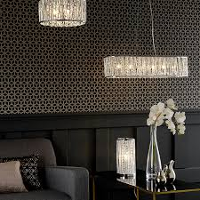 flush ceiling lights living room buy john lewis emilia crystal drum flush ceiling light john lewis