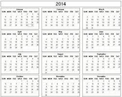 printable calendar yearly 2014 print small calendar aztec online
