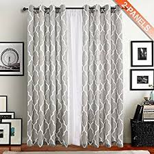 Moroccan Inspired Curtains Amazon Com Print Draperies U0026 Curtains Window Treatments Home