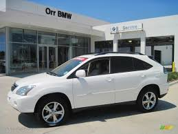 lexus rx 400h pictures 2006 crystal white pearl lexus rx 400h awd hybrid 28461752