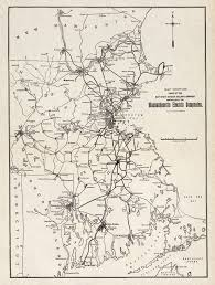 Map Of Eastern Massachusetts by