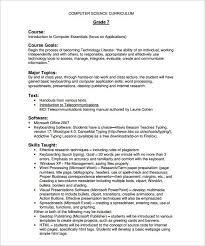 course outline template u2013 8 free word excel pdf format download
