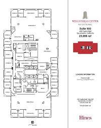 wells fargo center floor plan 400 capitol mall sacramento ca 95814 property for lease on
