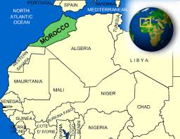 Map Of Spain And Morocco by Morocco Facts Culture Recipes Language Government Eating