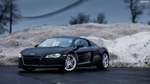 Audi R8 Matte - audi matte black r8 backgrounds wallpaper galleryautomo