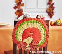 peanuts thanksgiving woodstock turkey chairbacker pottery barn