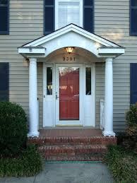 Wood Awning Design Front Door Cozy Front Door Overhang Design For Home Design Front