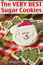 the very best homemade sugar cookies recipe living on a dime