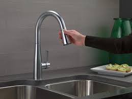 Single Handle Pull Down Kitchen Faucet 9113 Ar Dst Single Handle Pull Down Kitchen Faucet