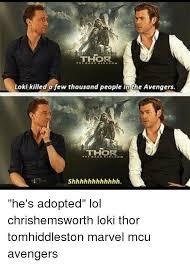 Funny Thor Memes - 25 best memes about loki thor loki thor memes