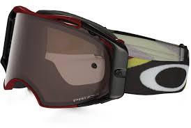 oakley motocross goggle lenses 2017 oakley airbrake mx goggle heritage racer red prizm black