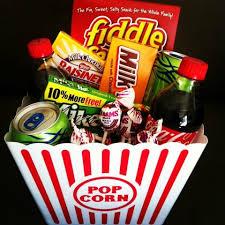 Movie Night Gift Basket Ideas 72 Best Movie Night Gift Baskets Images On Pinterest Movie Night