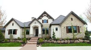 pictures of french country homes stucco homes pictures stucco homes custom home landscaping cedar