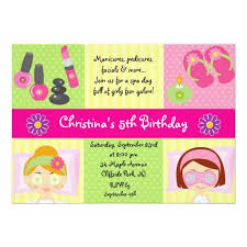 367 best spa birthday party invitations images on pinterest