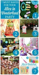 Alice In Wonderland Decoration Ideas Alice In Wonderland Mad Tea Party Birthday Party Ideas