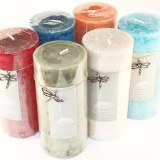 mottled 2 75 x 6 pillar candles 6 fragrances scented soy