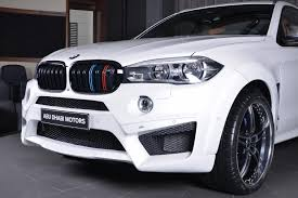 custom white bmw bmw x6 m is dripping with ac schnitzer custom parts
