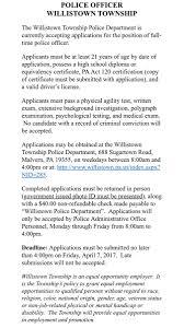 willistown police willistownpd twitter