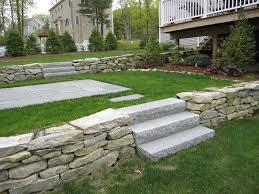 Landscaping Ideas For Sloped Backyard Landscape Design In Ma U2014 Natural Path Landscaping