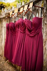 Wine Colored Bridesmaid Dresses 28 Best Wedding Bridesmaid Dresses Merlot Wine Berry Images On