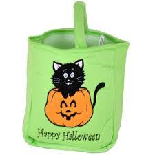 halloween pumpkin bag halloween trick or treat bags u0026amp pails