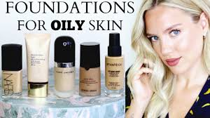 light coverage foundation for oily skin best foundations for oily combination skin elanna pecherle youtube
