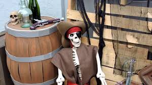 pirates halloween decorations pirates of the caribbean birthday party youtube